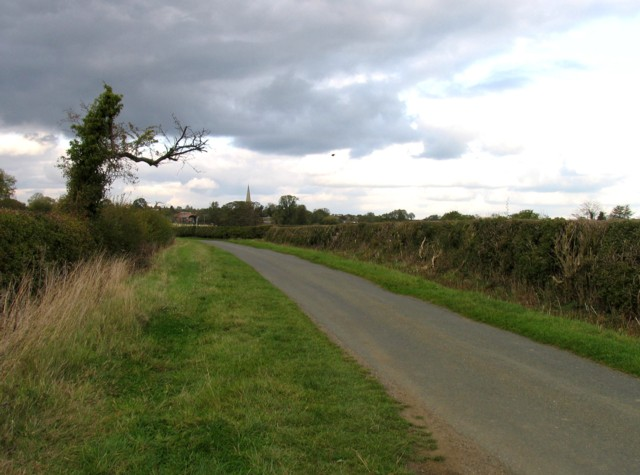 Welby Lane towards Ab Kettleby