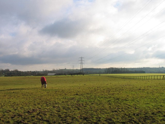 Pylons towards Oakham