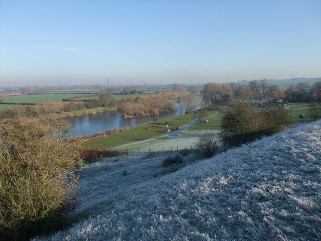 Overlooking the Trent, west of Ingleby