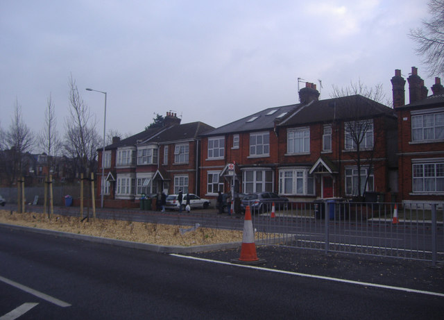 Houses on Bowes Road, Palmers Green