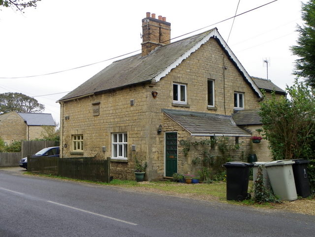Village scene, Thistleton