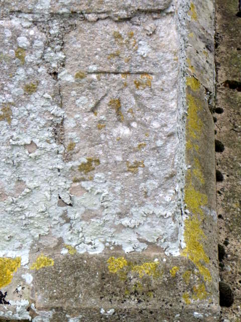 Bench Mark, The Church of St Nicholas