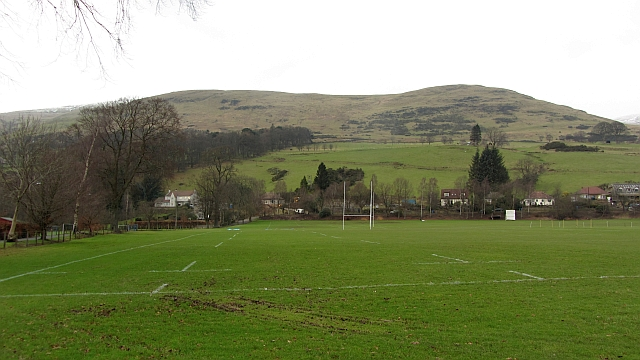 Dollar Academy playing fields