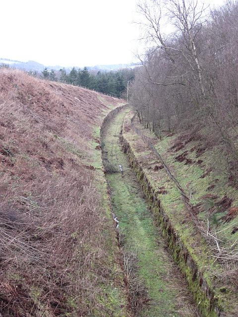 Trackbed, Devon Valley Railway