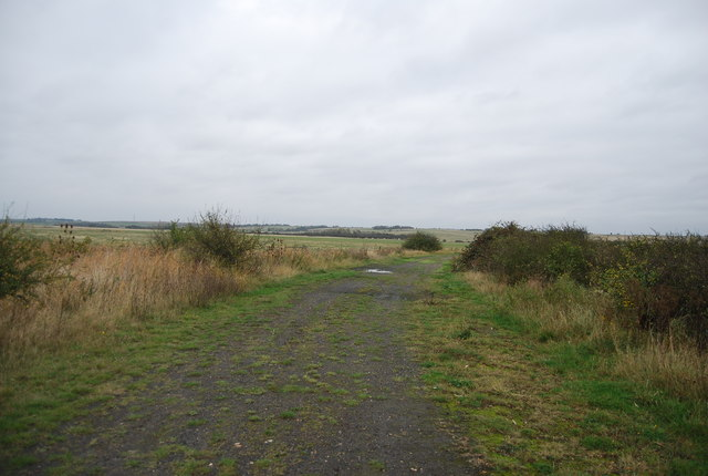 Manor Way across the marshes