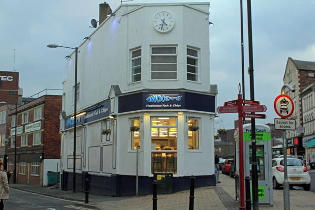 Woody's Fish and Chips Eldon Street
