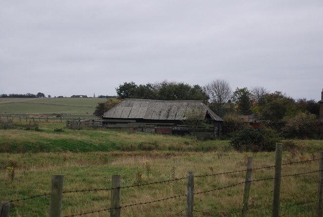 Derelict farm building, Swigshole