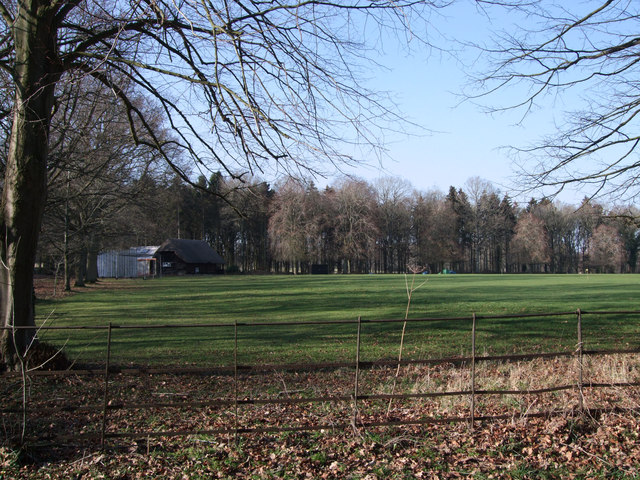 Buscot Park Cricket Club ground and pavilion
