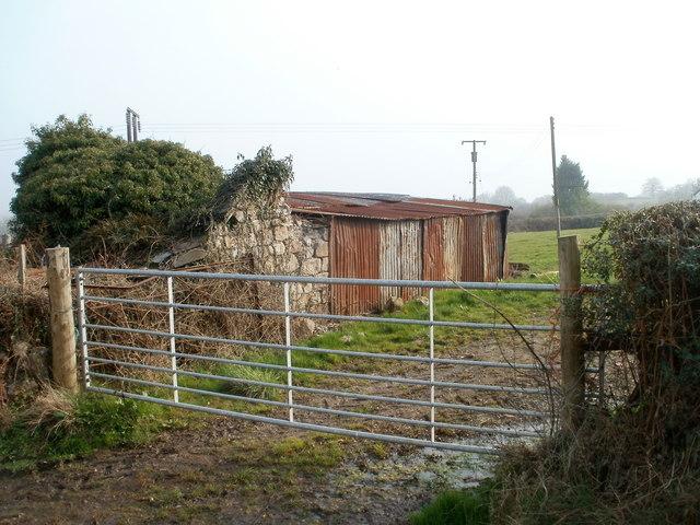 Corrugated farm building, Bevan's Lane, Sebastopol