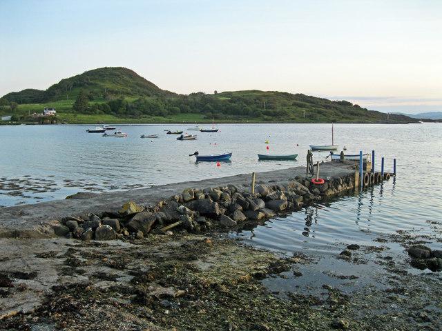 Carsaig jetty