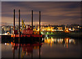 J5082 : Jack-up barge, Bangor by Rossographer