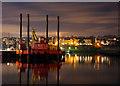 J5082 : Jack-up barge, Bangor : Week 5