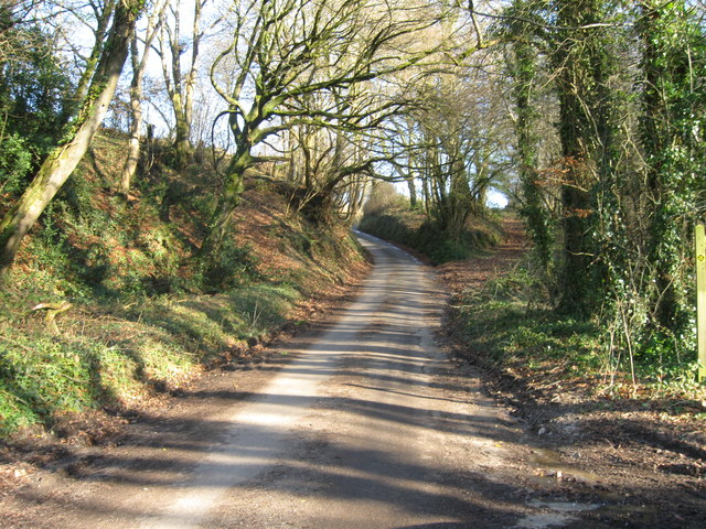 Country Lane east of Pouch Bridge