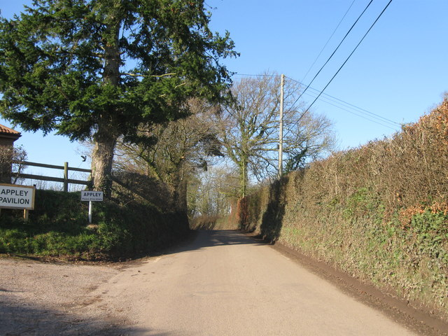 Entrance to Appley