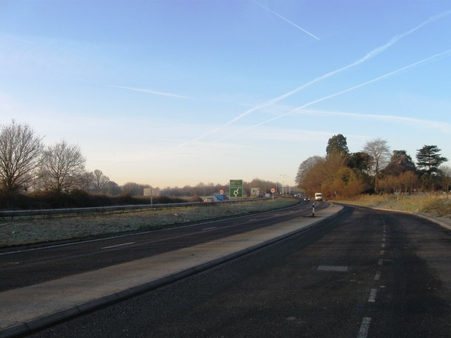A303 looking towards Hayes Roundabout