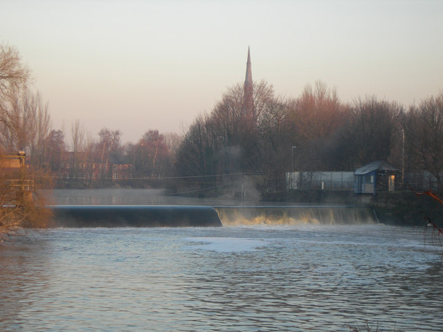 The Weir on the Mersey