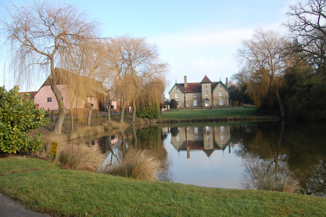 Pond and Smeetham Hall