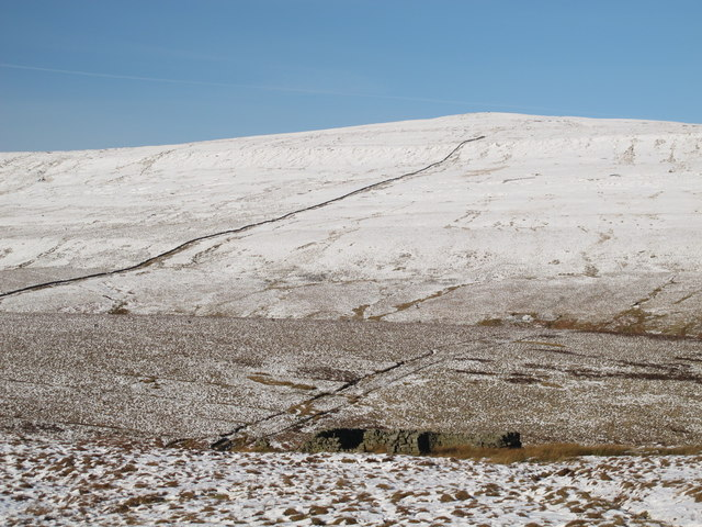 Sheepfold above Gilderdale Burn