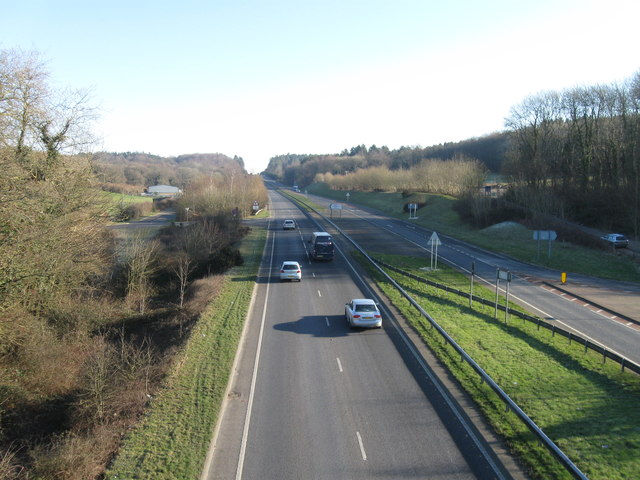 A35 looking north east