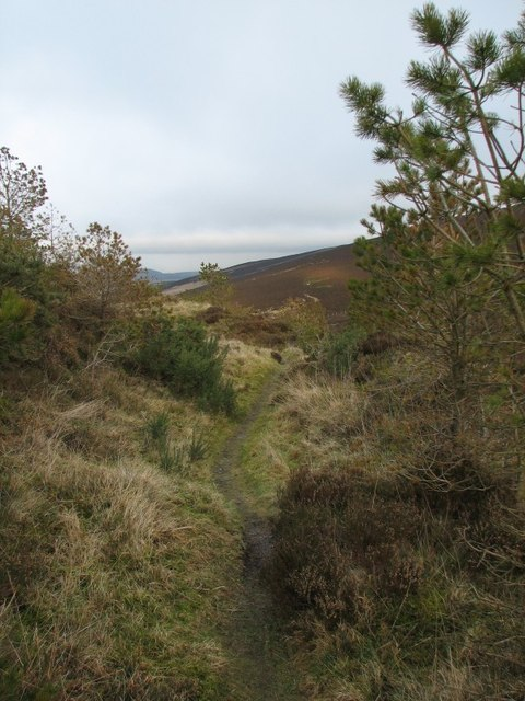Path, Balkello Hill