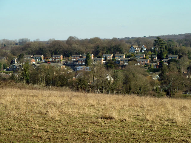 View towards Pratt's Bottom