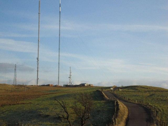 Blackhill, transmission station