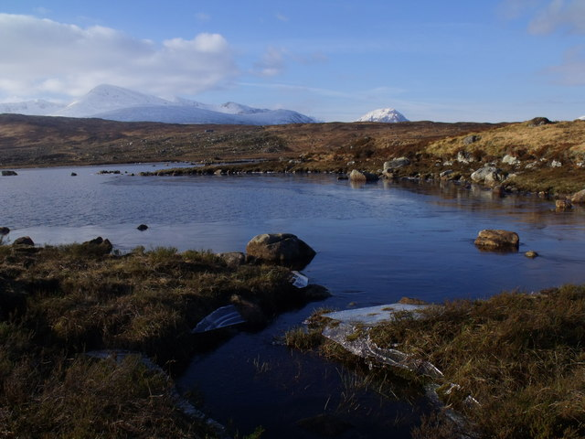 North shore of Lochan Beinn Chaorach