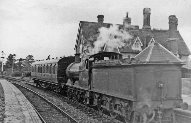 Great Malvern - Ashchurch train at Upton-on-Severn
