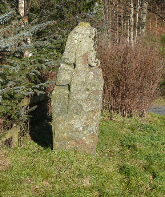 Cross slab near Westhaugh of Tulliemet