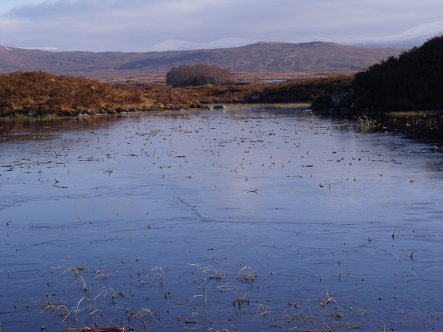 Central bay in minor lochan on Rannoch Moor