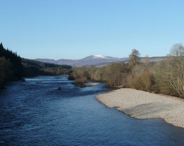 The River Tummel at Ballinluig