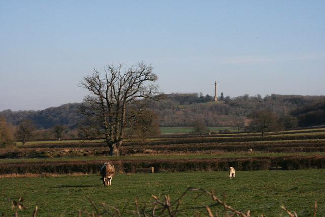 Burton Pynsent from Underhill Farm