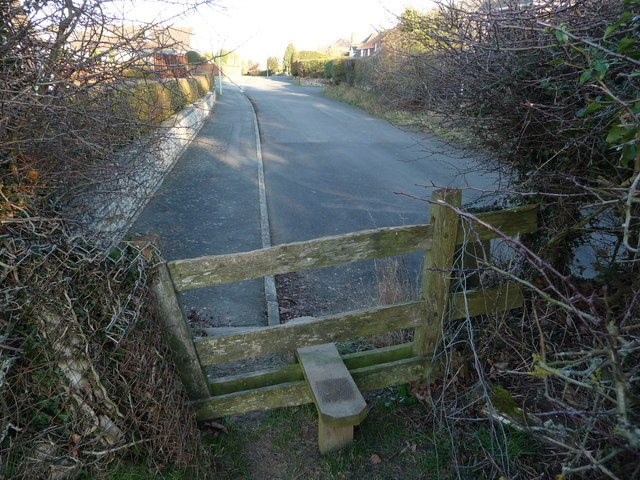 Stile on Croeswylan Lane, Oswestry