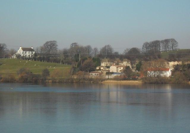 View from Dickens Hide at Fairburn ings