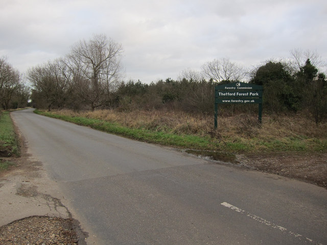 Entering the Brecks