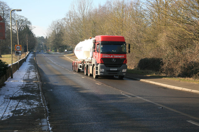 Castle Cement  lorry