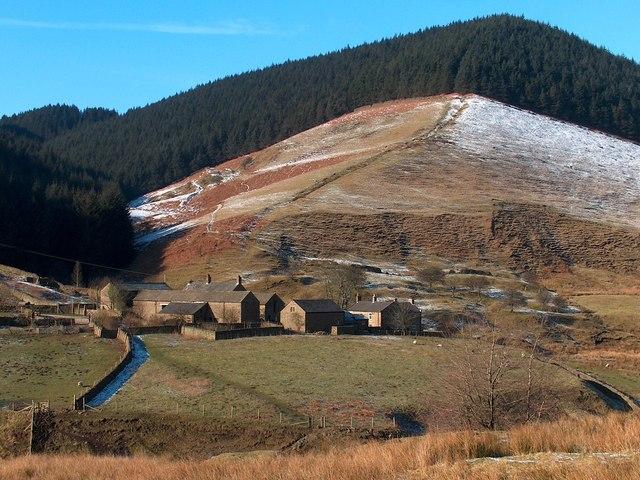 The hamlet of Alport