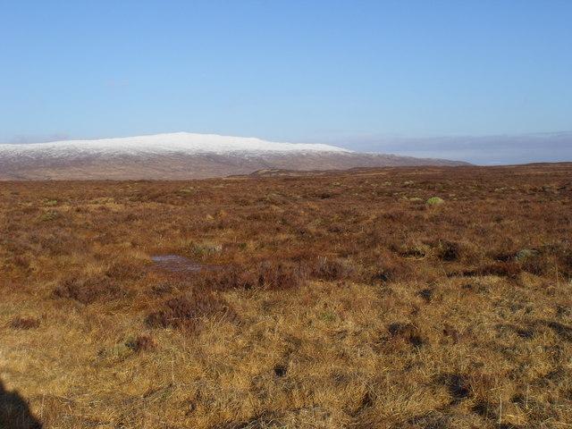 Terrain north of Loch Ba on Rannoch Moor