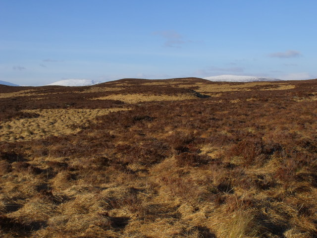 Ridge ground to the north of Loch Ban on Rannoch Moor