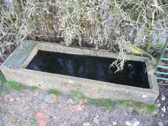 Concrete cattle trough off Croeswylan Lane, Oswestry