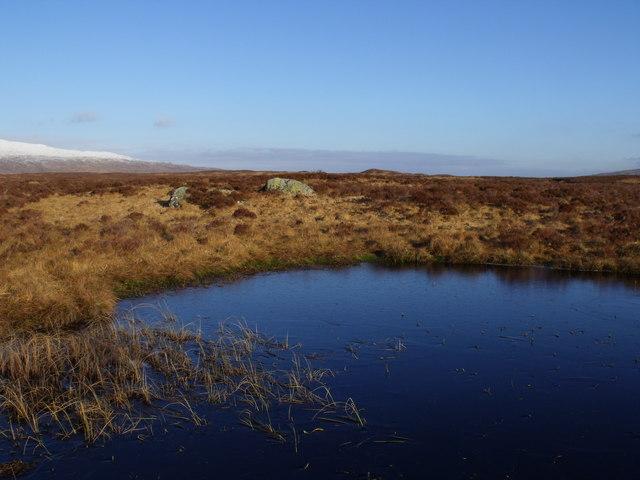 Mini bay on lochan by Loch Ba