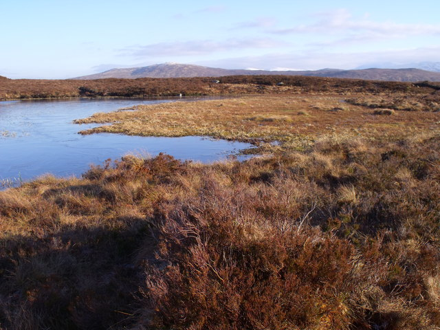 Southern extremity of lochan by Loch Ba