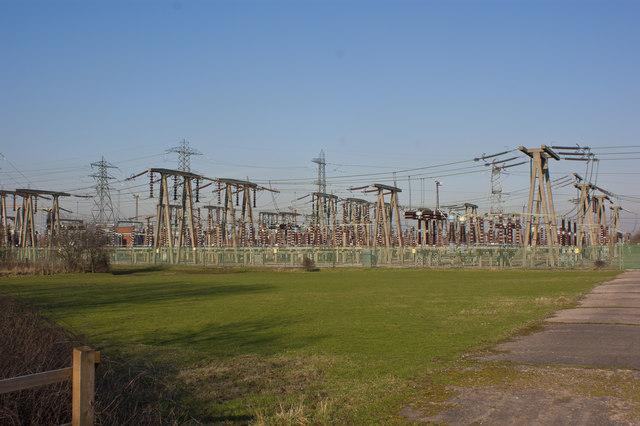 An electricity distribution centre