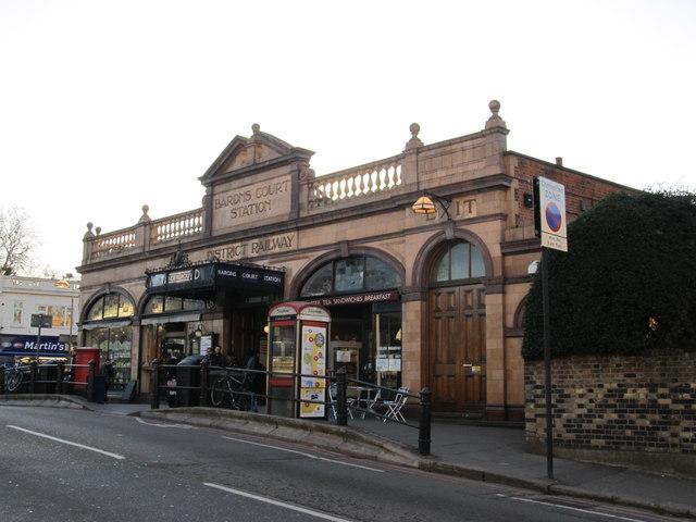 Baron's Court Underground Station