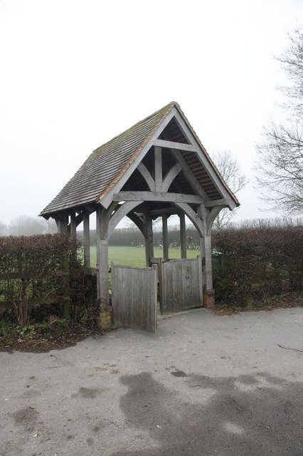The cemetery gate