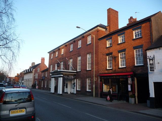 The Wynnstay Hotel, Church Street, Oswestry