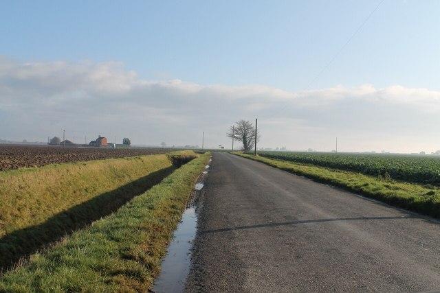 Shore (Shorey) Road, facing east