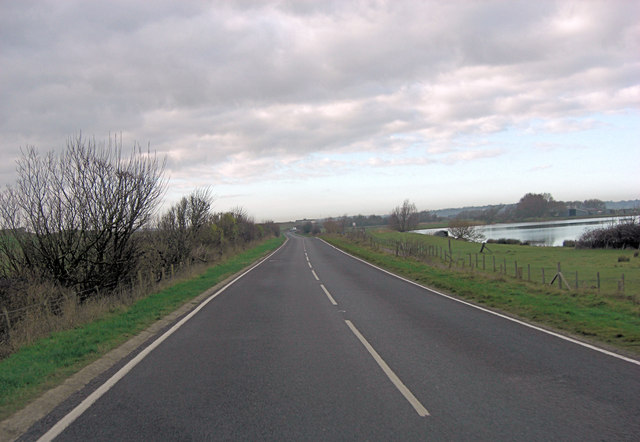Camber Road south of Pound Field Farm