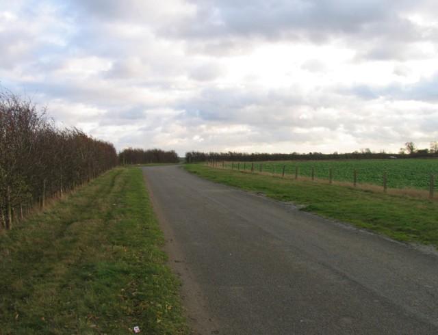 Former airfield perimeter road