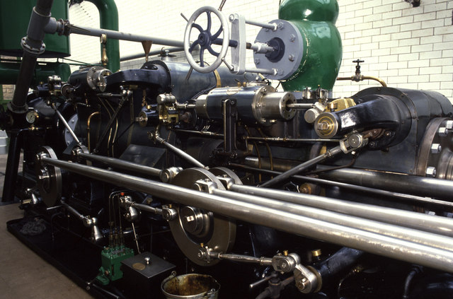 Washpit Mills - steam engine